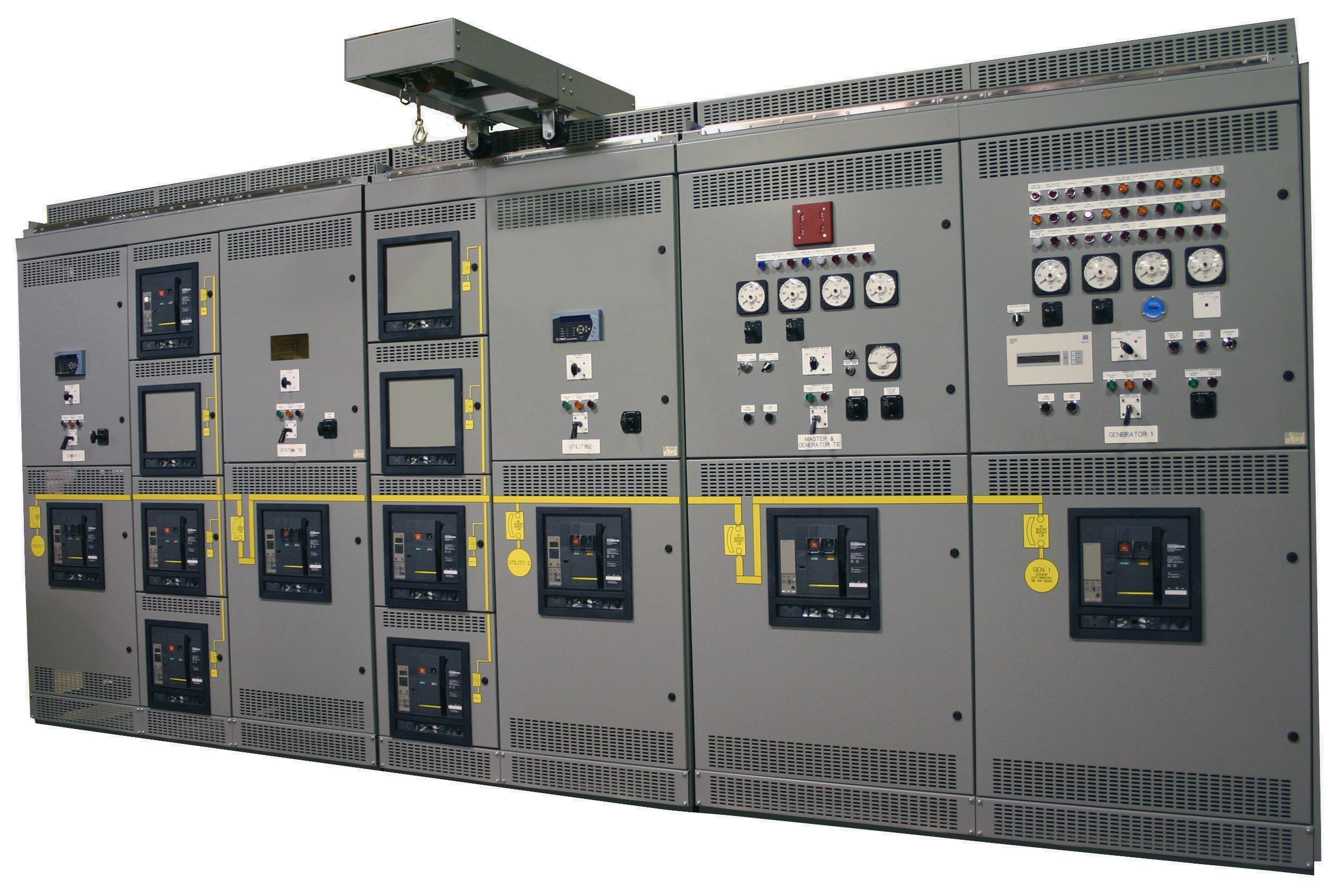 Custom Switchgear Low Voltage Paralleling Metal Clad