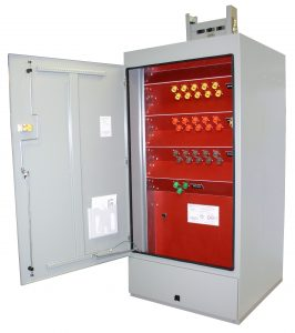 4000 Amp Quick Connection Cabinets - Front View